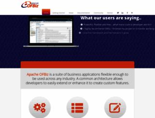 ofbiz.org screenshot