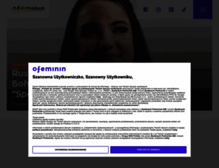 ofeminin.pl screenshot