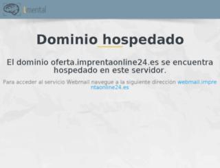 oferta.imprentaonline24.es screenshot