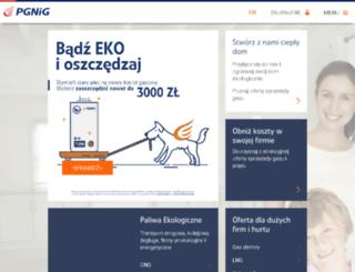 oferta.pgnig.pl screenshot