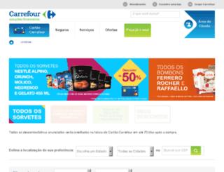 ofertascartaocarrefour.com.br screenshot