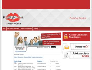 ofertasempleo.kissfm.es screenshot
