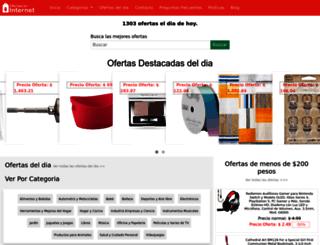 ofertaseninternet.com.mx screenshot