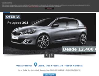 ofertaspeugeotvalencia.com screenshot