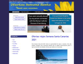 ofertassemanasanta.net screenshot