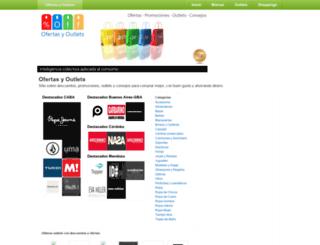 ofertasyoutlets.com.ar screenshot
