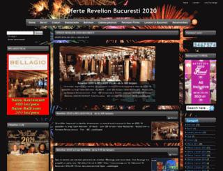 oferte-revelion-bucuresti.ro screenshot