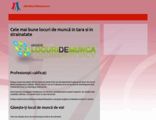 ofertelocuridemunca.ro screenshot