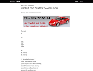 ofertyb2b.wordpress.com screenshot
