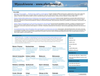 ofertywww.pl screenshot