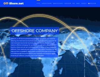 off-shore.net screenshot
