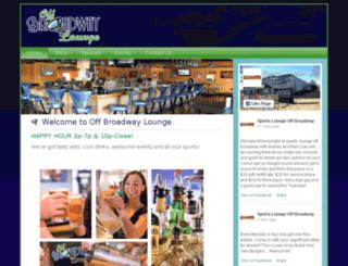 offbroadwaylounge.com screenshot