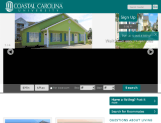offcampushousing.coastal.edu screenshot