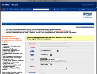 offer.wtrades.com screenshot