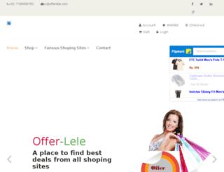 offerlele.com screenshot