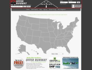 offerrunway.com screenshot
