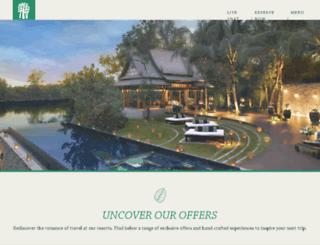 offers.banyantree.com screenshot
