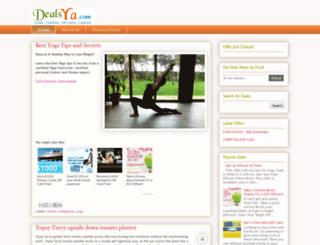 offers.dealsya.com screenshot