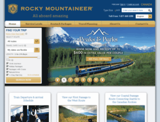 offers.rockymountaineer.com screenshot
