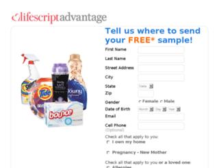 offers.samplememore.com screenshot