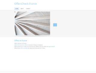 offerscheck-fr.weebly.com screenshot