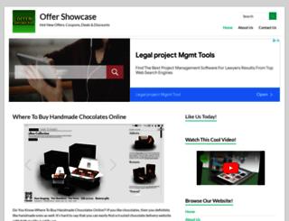 offershowcase.com screenshot