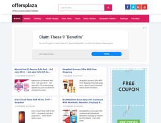 offersplaza.com screenshot