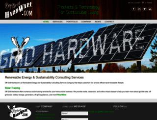 offgridhardware.com screenshot