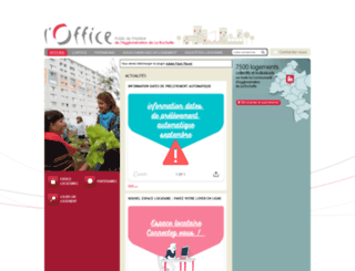 office-agglo-larochelle.fr screenshot