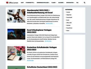 office-lernen.com screenshot