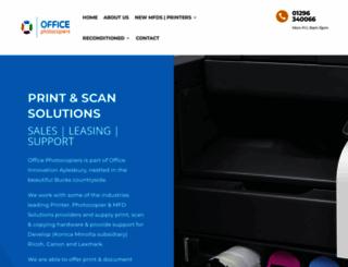 office-photocopiers.com screenshot