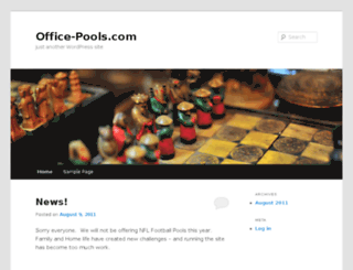 office-pools.com screenshot