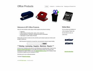 office-products.com.au screenshot