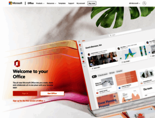 office.com screenshot