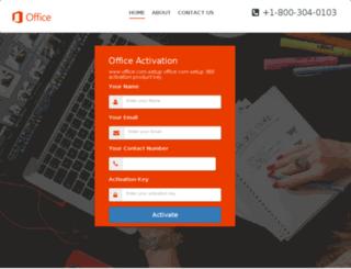 office.comsetupkey.com screenshot