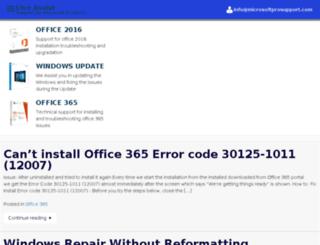 office.microsoftliveassist.com screenshot