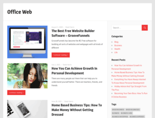 office1web.ie screenshot