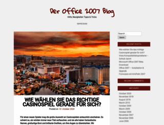office2007-blog.de screenshot