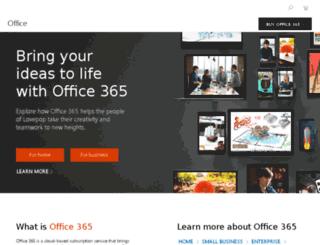 office2010.microsoft.com screenshot