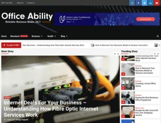 officeability.com screenshot