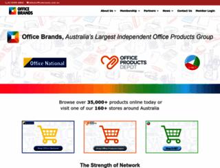 officebrands.com.au screenshot