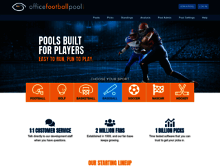 officefootballpool.com screenshot