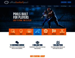 officefootballpools.com screenshot