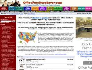officefurnituresaver.com screenshot
