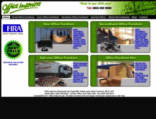 officeinteriorsltd.co.uk screenshot
