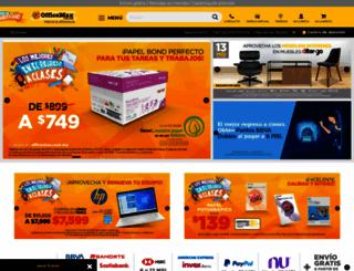 officemax.com.mx screenshot