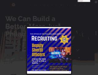 officeofphiladelphiasheriff.com screenshot