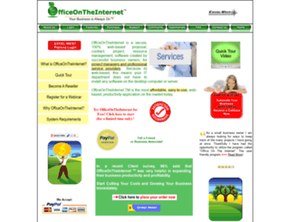 officeontheinternet.com screenshot