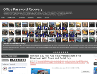 officepasswordsrecovery.blogspot.com screenshot