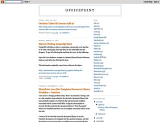 officepoint.blogspot.de screenshot